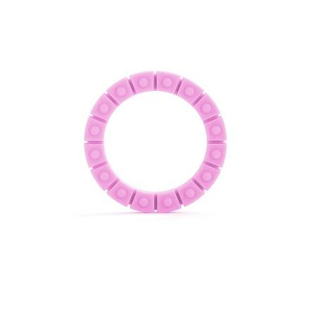 anillo para el pene rueda silicona rosa grande