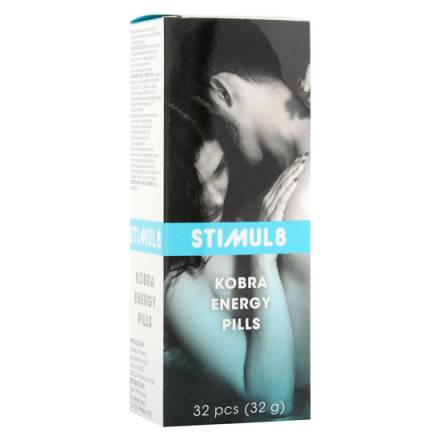 stimul8 kobra capsulas de energía