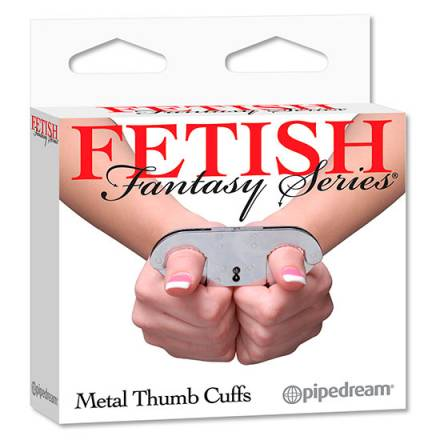 fetish fantasy esposas de metal pulgares
