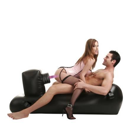 fetish fantasy sofa del amor hinchable con mando a distancia