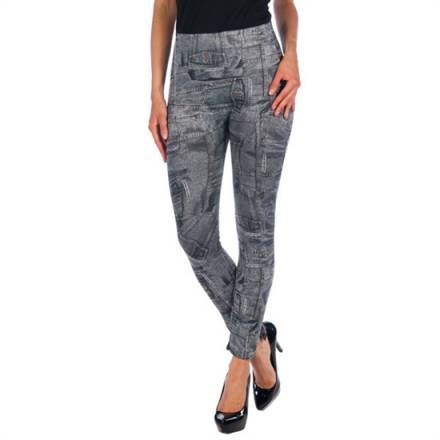 intimax legging caza bleua grey