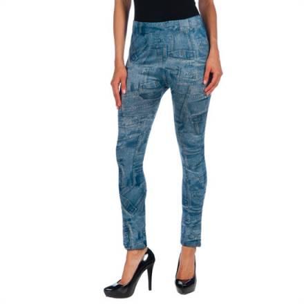 intimax legging bolsillo blue