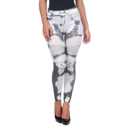 intimax legging dibujado white