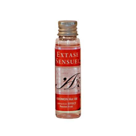 extase sensuel aceite de masaje calor feromonas fruta de la pasion 30 ml