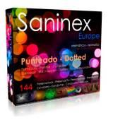 SANINEX PRESERVATIVOS PUNTEADO AROMATICO 144 UDS
