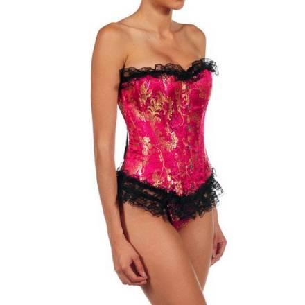 intimax corset zafiro fucsia