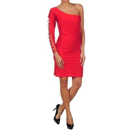 oferta intimax vestido monique rojo