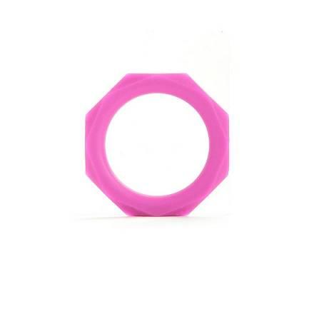 anillo para el pene octagon lila grande