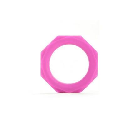 anillo para el pene octagon rosa mediano
