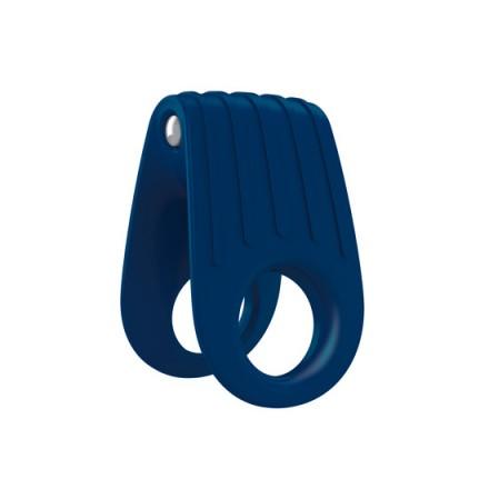 ovo b12 anillo vibrador azul