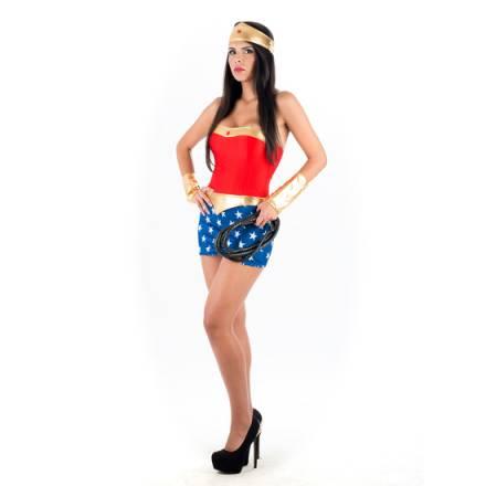 picaresque disfraz sexy capitán américa rojo