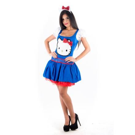 picaresque disfraz hello kitty azul