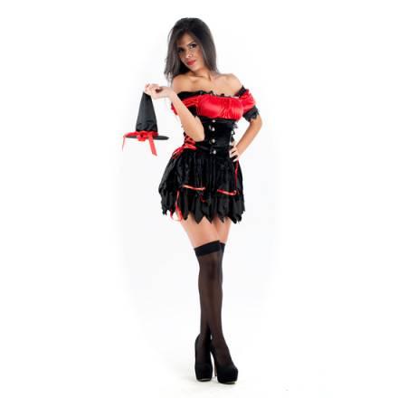 picaresque disfraz witch negro