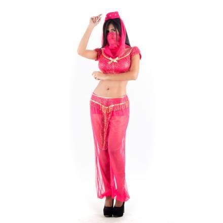 picaresque disfraz arabe rosa