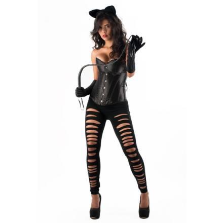 picaresque disfraz catwoman yasmin negro