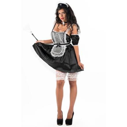 picaresque disfraz maiden alexia negro