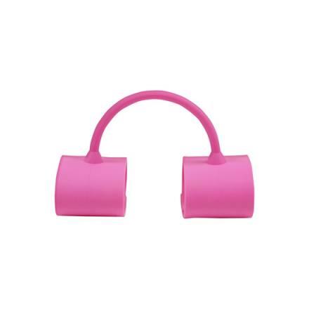 esposas para tobillos de silicona rosa