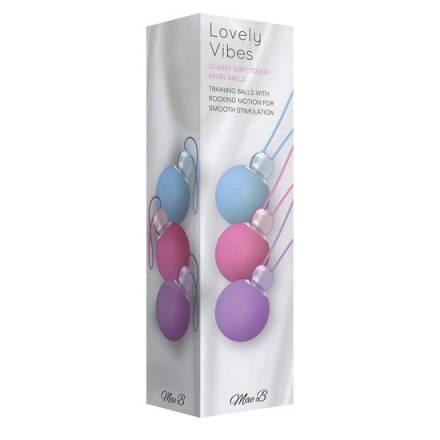 kegel bolas chinas azul rosa y lila