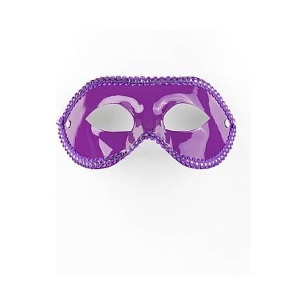 mascara para fiestas morado