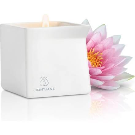 jimmyjane vela de masaje rosa de loto