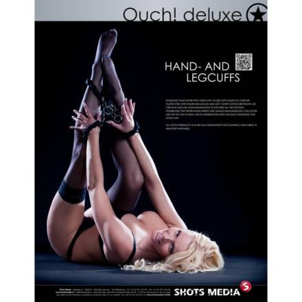 ouch luxury esposas para pies y manos