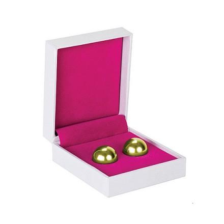 bolas chinas ben wa balls doradas