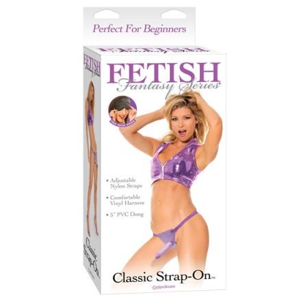 fetish fantasy arnes realistico clasico lila