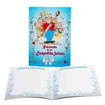 libro de firmas para despedida de soltero