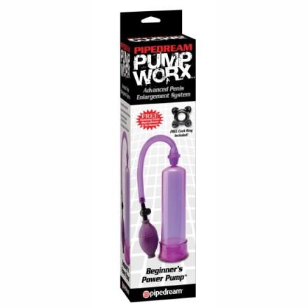 pump worx bomba de ereccion principiantes lila