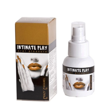 intimate play gel para sexo oral caramelo
