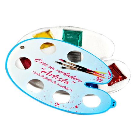 paleta pintor 6 preservativos de sabores