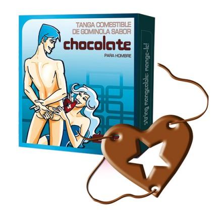 tanga comestible hombre sabor chocolate