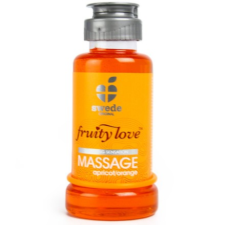 fruity love crema de masaje albaricoque y naranja 100 ml