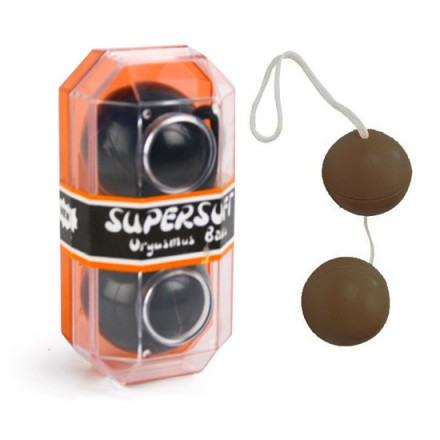 supersoft bolas orgasmicas negras
