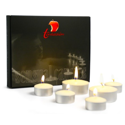 tentacion set de velas con feromonas leche de coco