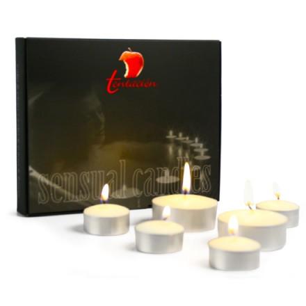 tentacion set de velas con feromonas frutos rojos