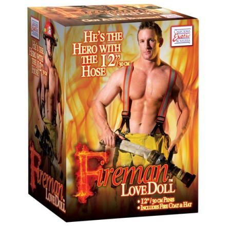 muñeco realistico bombero
