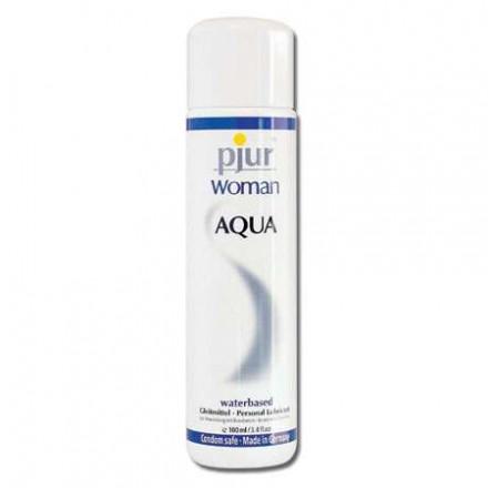 pjur woman lubricante base agua 100 ml