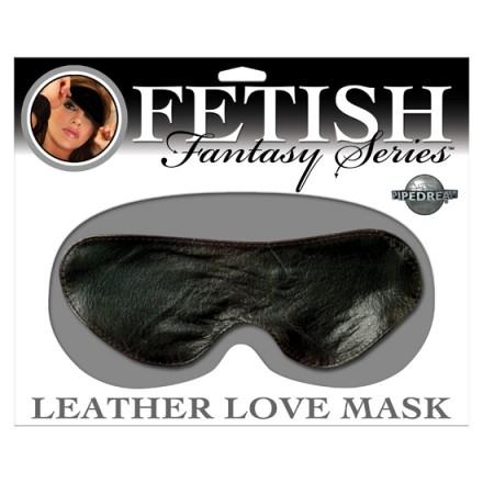 fetish fantasy mascara de piel negra