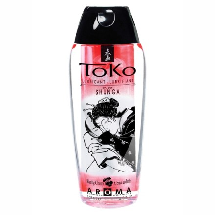 shunga toko aroma lubricante cereza ardiente