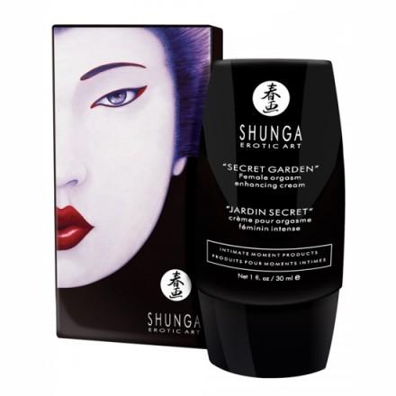 shunga crema orgasmo femenino intenso jardin secreto