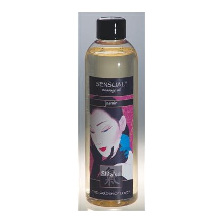 shiatsu aceite afrodisiaco de masaje de jazmin