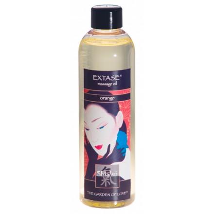 shiatsu aceite afrodisiaco de masaje de naranja