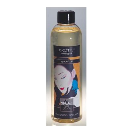 shiatsu aceite afrodisiaco de masaje de uvas