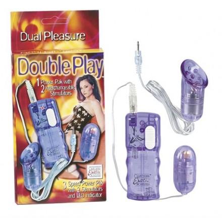 doble juego con dos vibradores