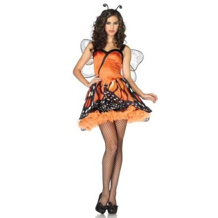 leg avenue disfraz femenino de mariposa