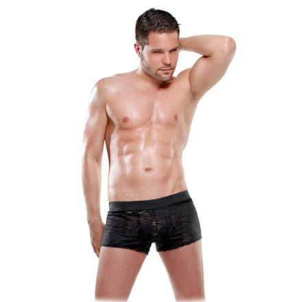 fetish fantasy lingerie boxer semitransparente s m