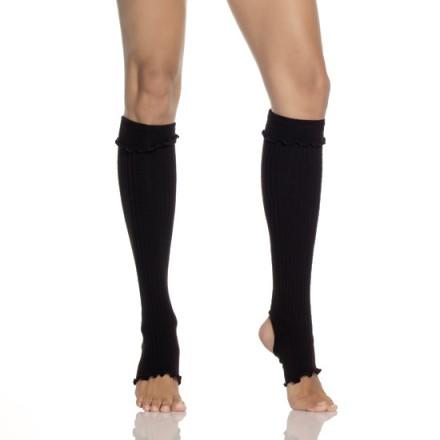 leg avenue calienta piernas acrilico negro