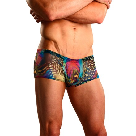 male power boxer estampado psicodelico