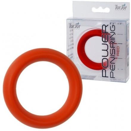 anillo pene rojo mediano